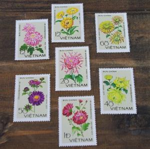 Antique Stamp   flowers