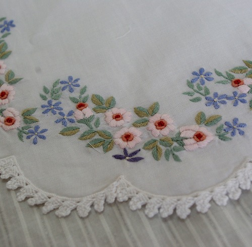 cotton doiry - oval