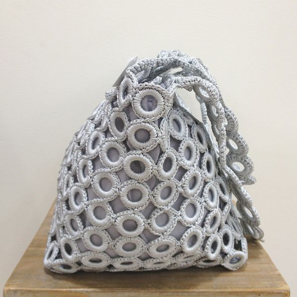 Ring Shoulder Bag * light gray