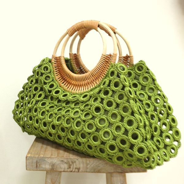 Ring Bag * dark moss green
