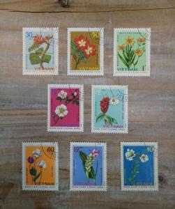 Antique Stamp  flower