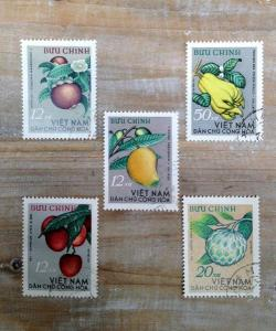Antique Stamp  fruits